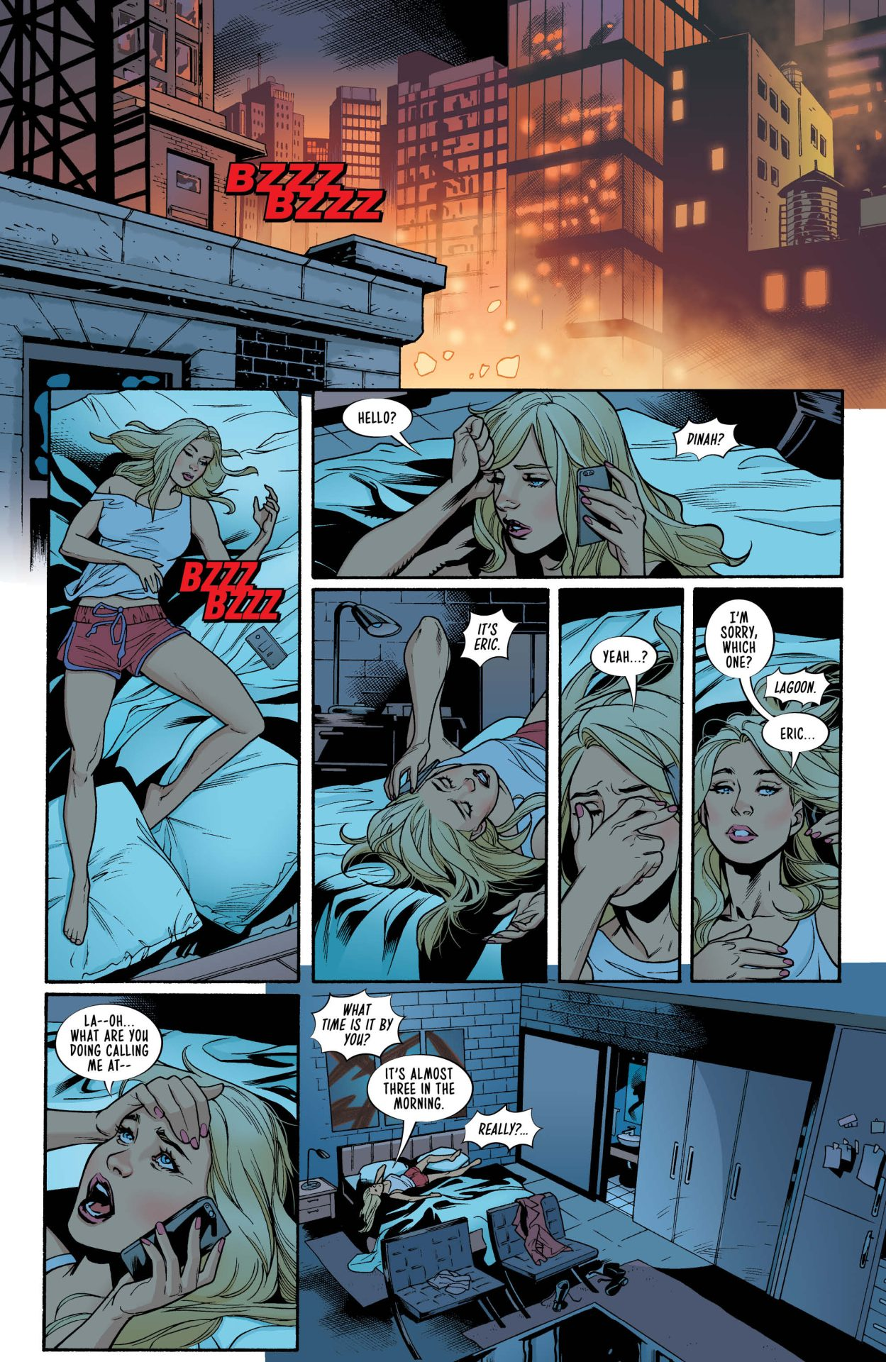 Preview Birds Of Prey 1 Graphic Policy