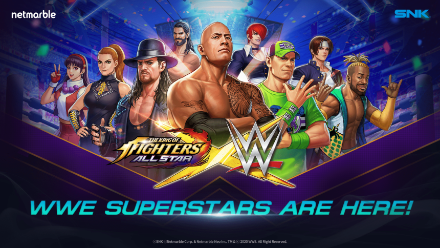 The King of Fighters Allstar WWE