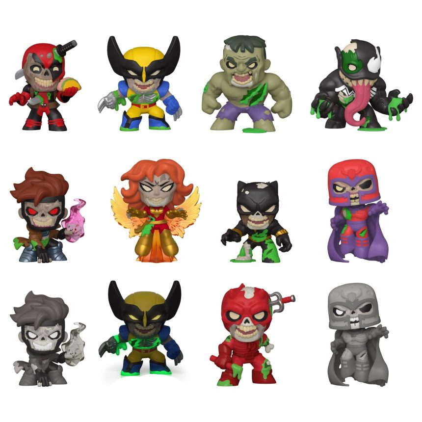 Marvel Zombies Mystery Minis
