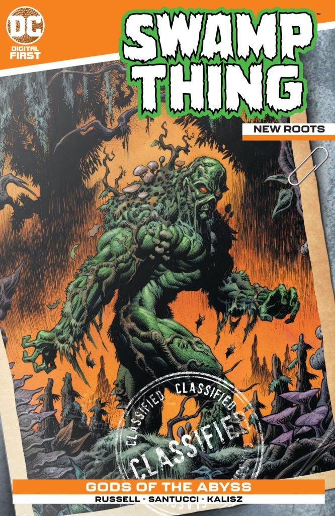 Swamp Thing: New Roots #3