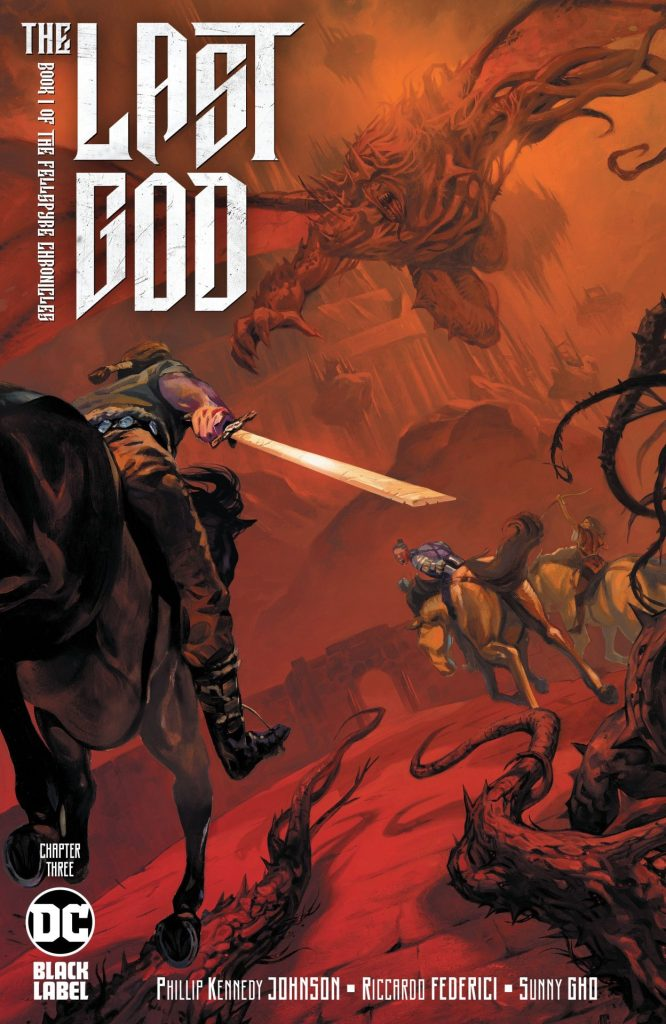 The Last God #3 2nd Printing