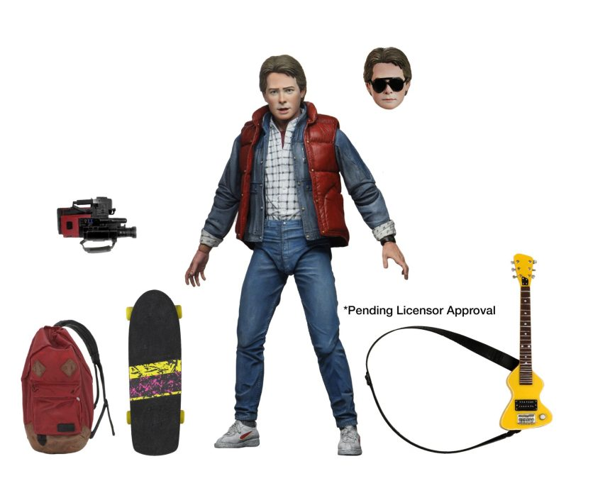 "Back to the Future - 7"" Scale Action Figure - Ultimate Marty McFly"
