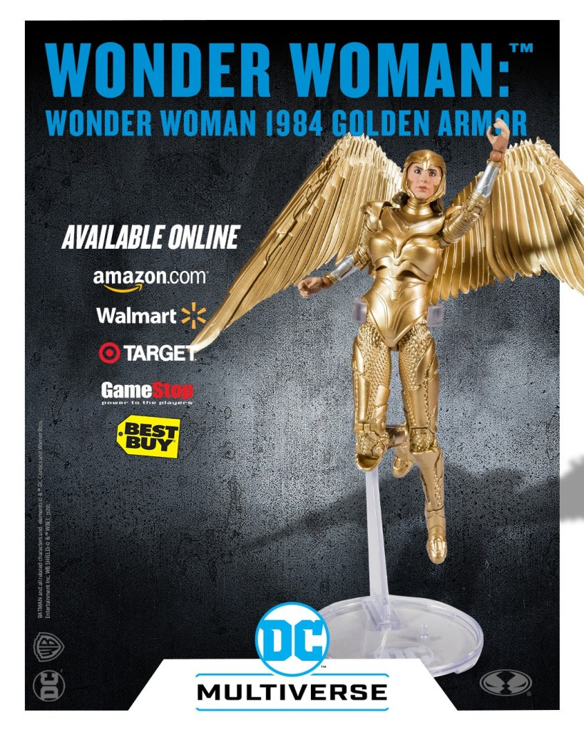 Wonder Woman Gold Armor: Wonder Woman 1984