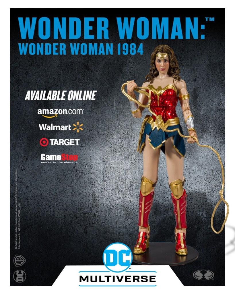 McFarlane Toys Wonder Woman: Wonder Woman 1984