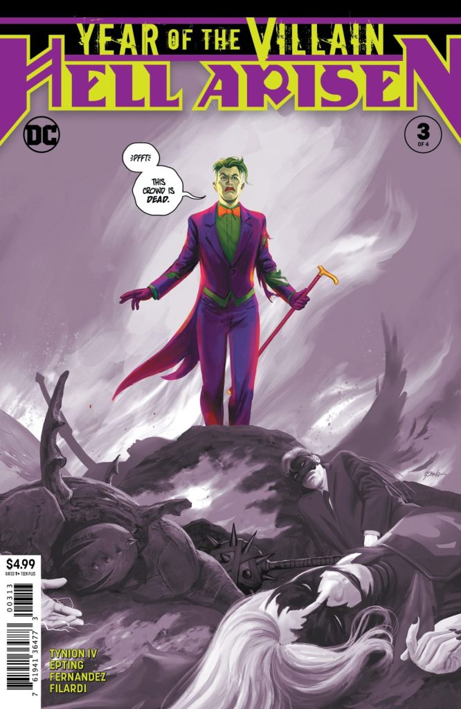 Year of the Villain: Hell Arisen #3 (of 4) 3rd printing