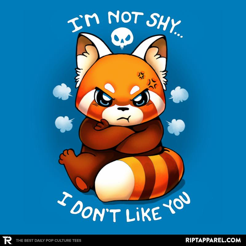I'm not shy...I don't like you