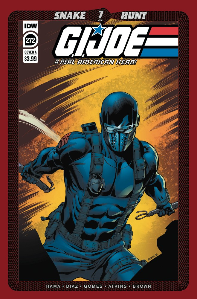G.I. Joe: A Real American Hero #272