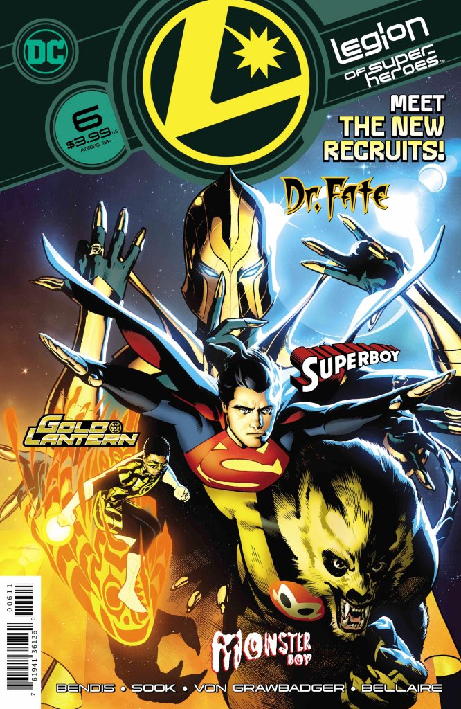Legion of Super-Heroes #6