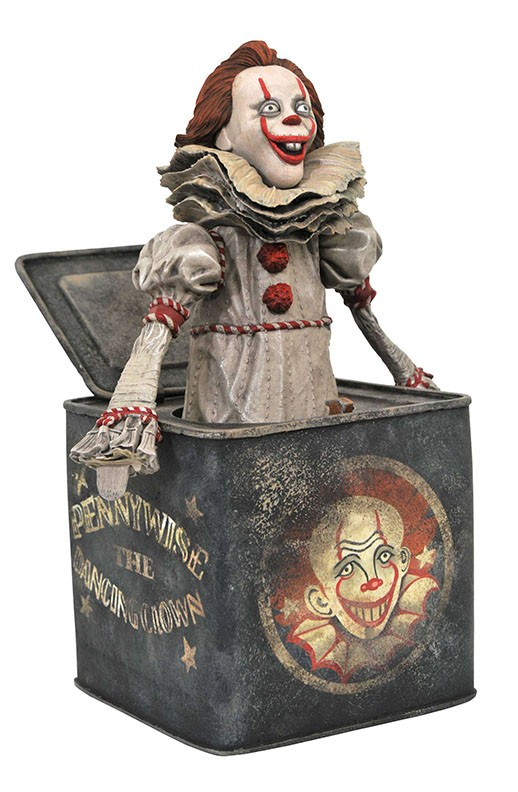 IT Chapter 2 Gallery Pennywise in the Box PVC Diorama