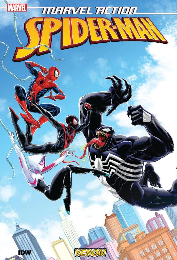 Marvel Action Spider-Man Vol. 4 Venom