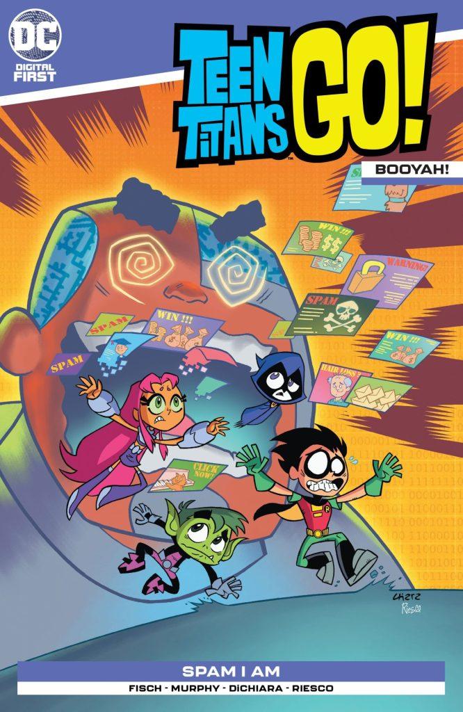 Teen Titans Go! Booyah #4