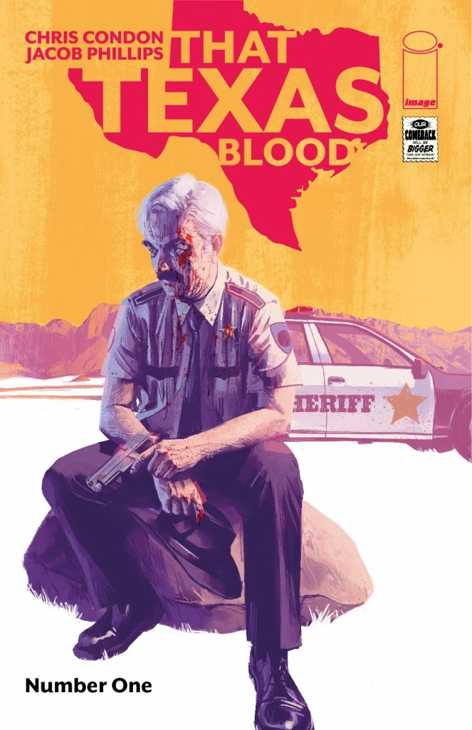 That Texas Blood #1, second printing