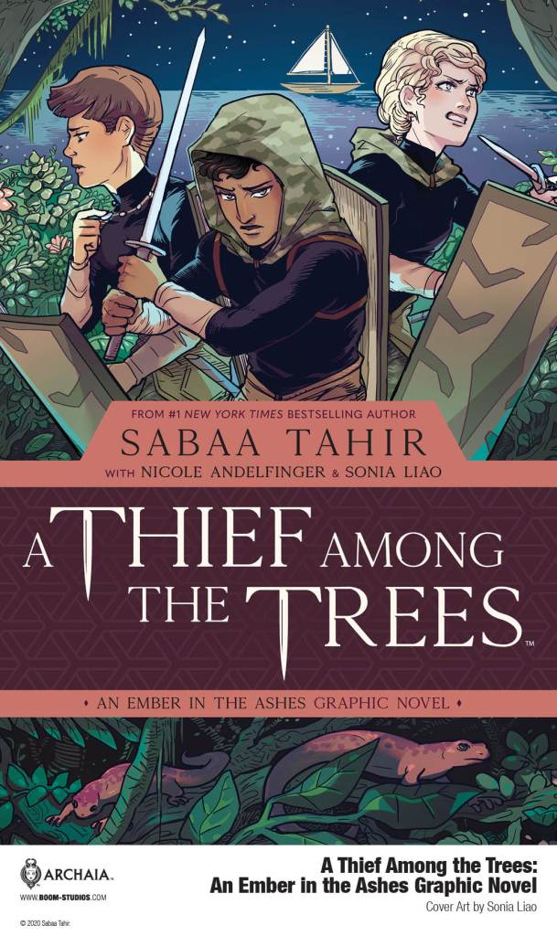 A Thief Among the Trees: An Ember in Ashes Graphic Novel