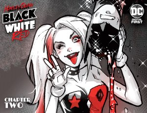 Harley Quinn: Black + White + Red #2