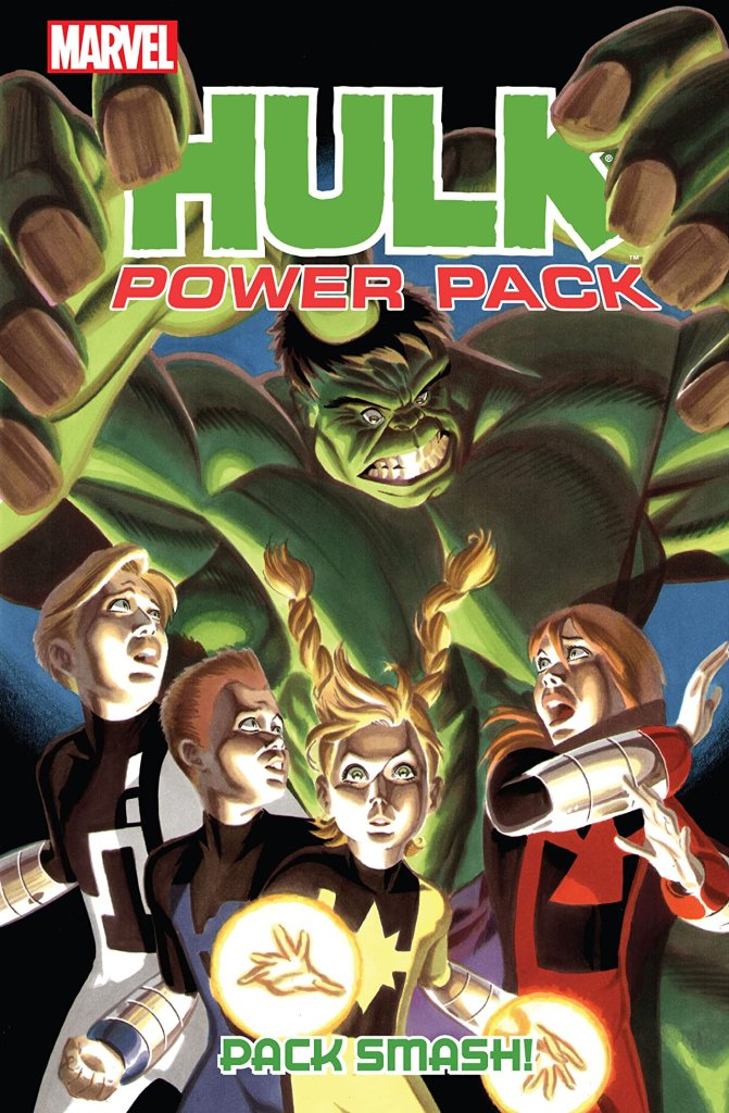 Hulk And Power Pack: Pack Smash!