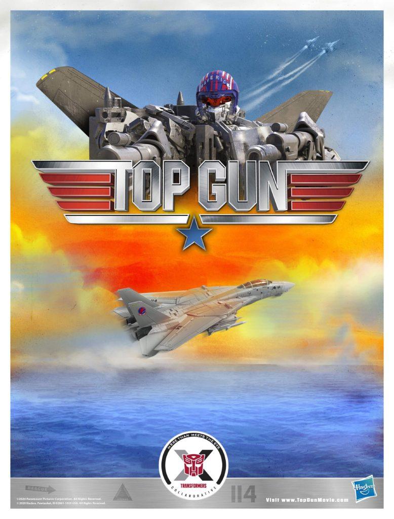 Top Gun Transformers poster