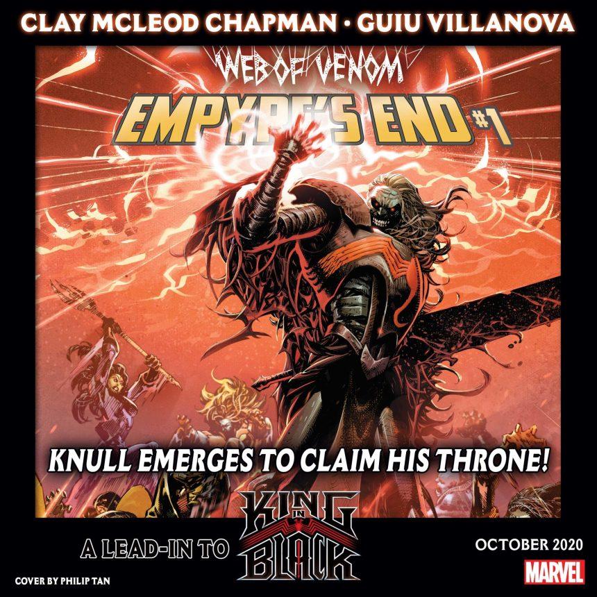 Web of Venom: Empyre's End #1