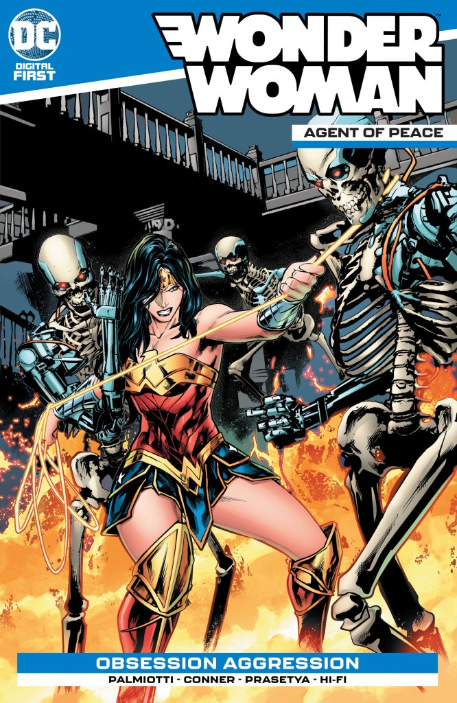 Wonder Woman: Agent of Peace #9