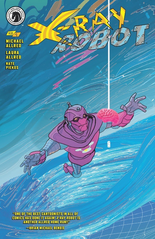 X-Ray Robot #1 Convention Exclusive Variant (Christian Ward)