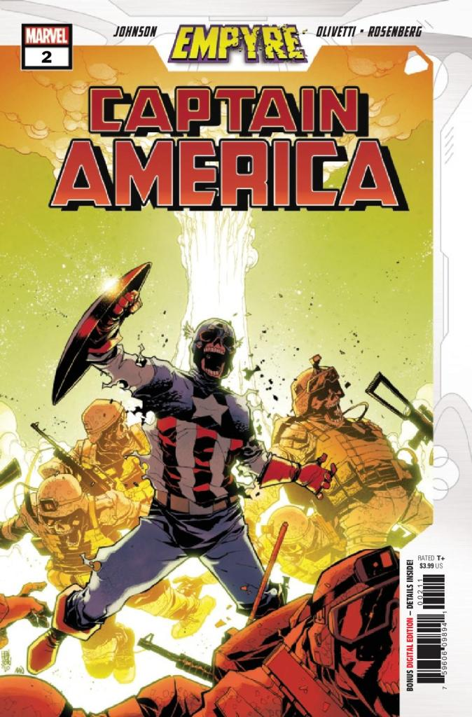 Empyre: Captain America #2 (of 3)