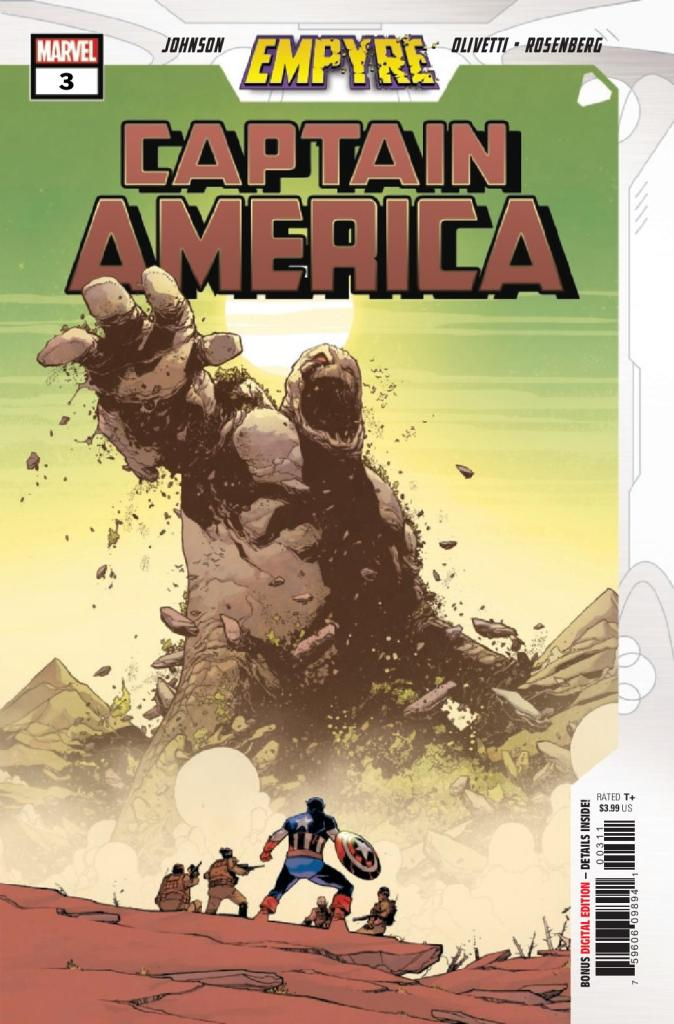 Empyre: Captain America #3 (of 3)