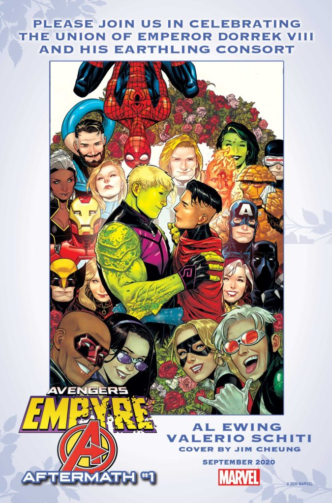 Empyre: Avengers Aftermath #1