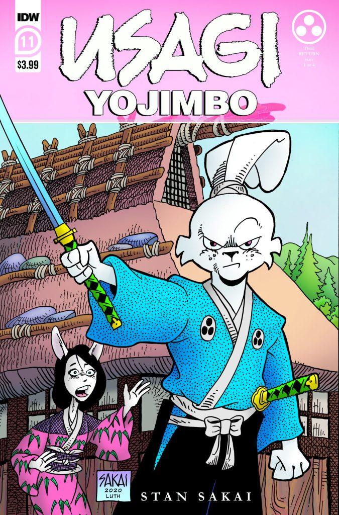 Usagi Yojimbo #11