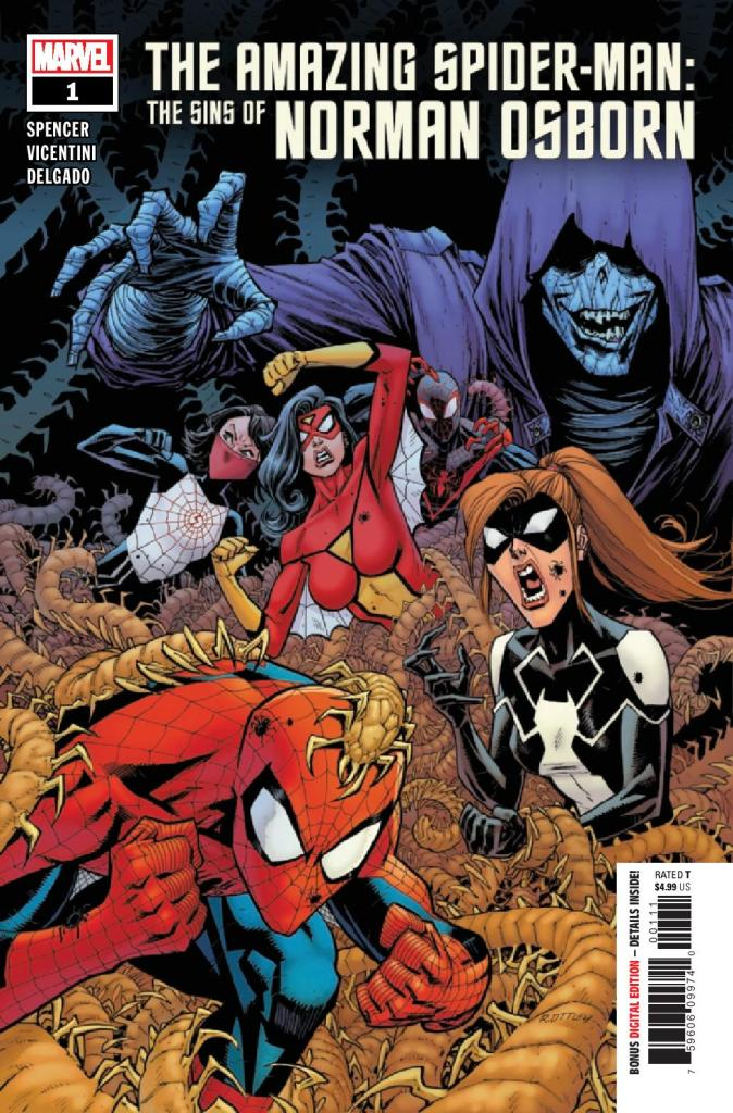 The Amazing Spider-Man: The Sins of Norman Osborn #1