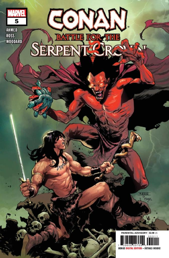 Conan: Battle for the Serpent Crown #5 (of 5)