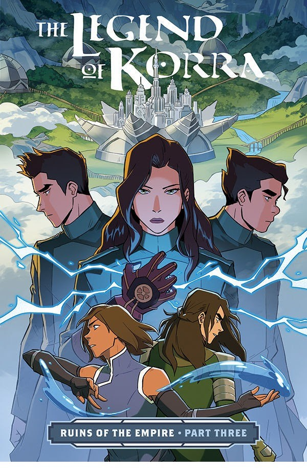 The Legend of Korra: Turf Wars Library Edition and The Legend of Korra: Ruins of the Empire Part 3