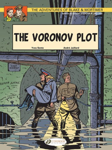BLAKE & MORTIMER VOL. 8 THE VORONOV PLOT