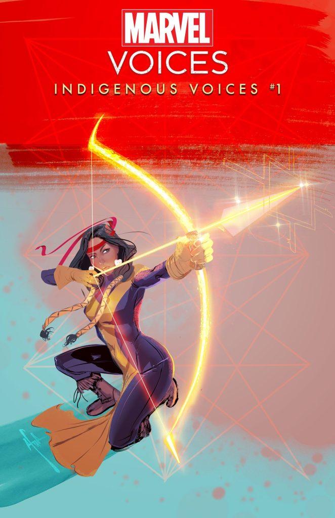 Marvel's Voices: Indigenous Voices #1 Afua Richardson cover