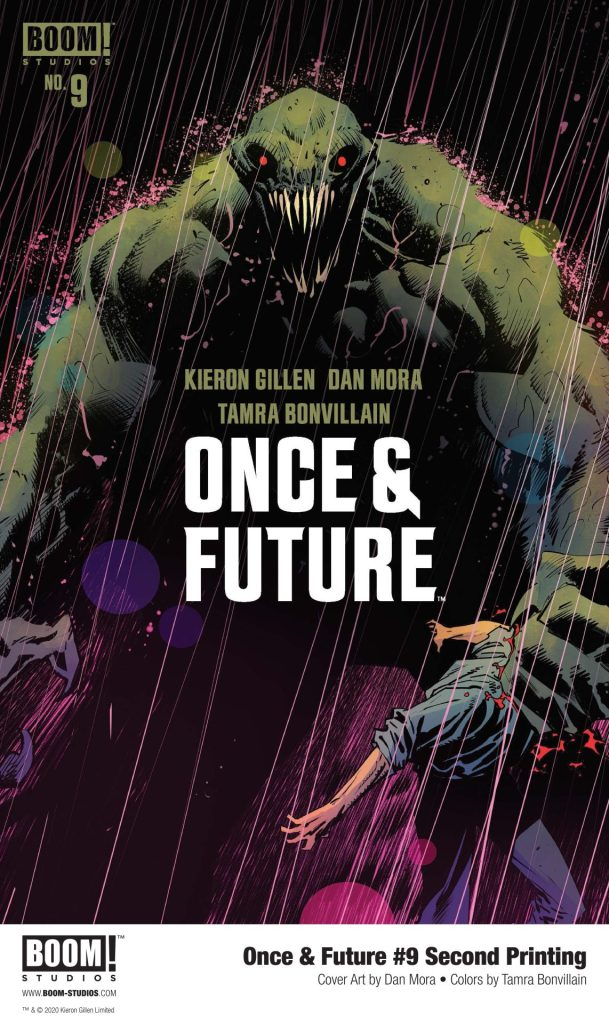 Once & Future #9 2nd Printing