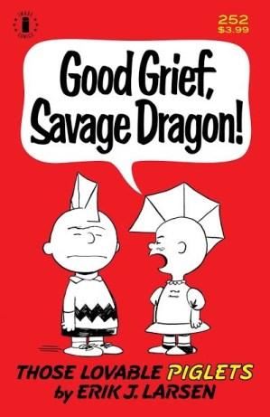 Savage Dragon #252, second printing