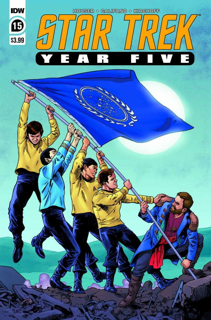 Star Trek: Year Five #15