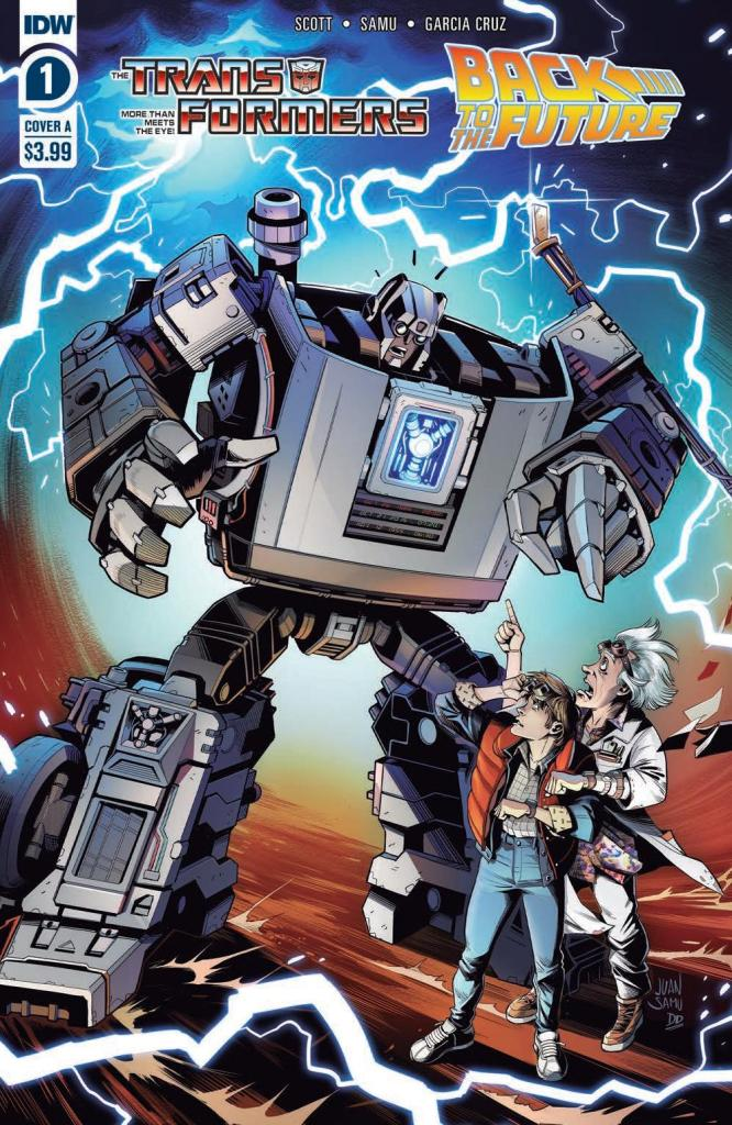 Transformers/Back to the Future #1 (of 4)