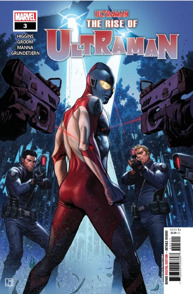 Rise of Ultraman #3 (of 5)