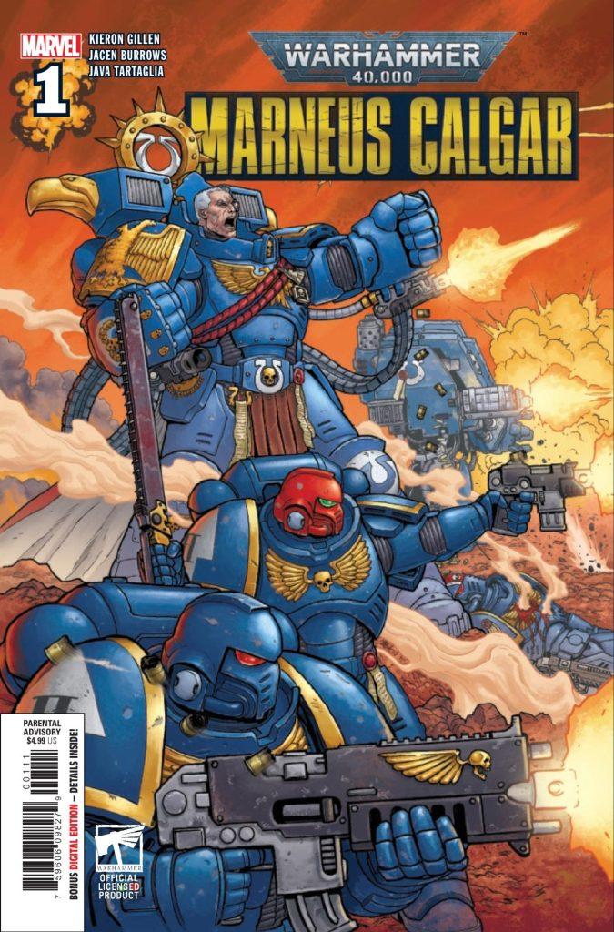 Warhammer 40,000: Marneus Calgar #1 (of 5)