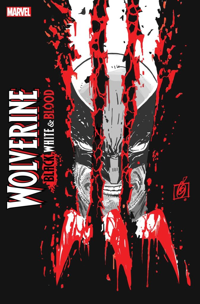 Wolverine: Black, White, & Blood #1 Ron Garney cover