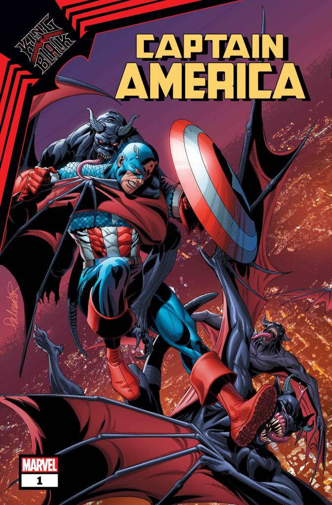 KING IN BLACK: CAPTAIN AMERICA #1