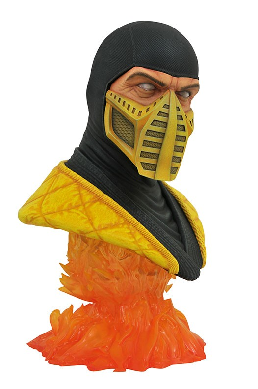 Legends in 3D Video Game Mortal Kombat Scorpion 1/2 Scale Bust