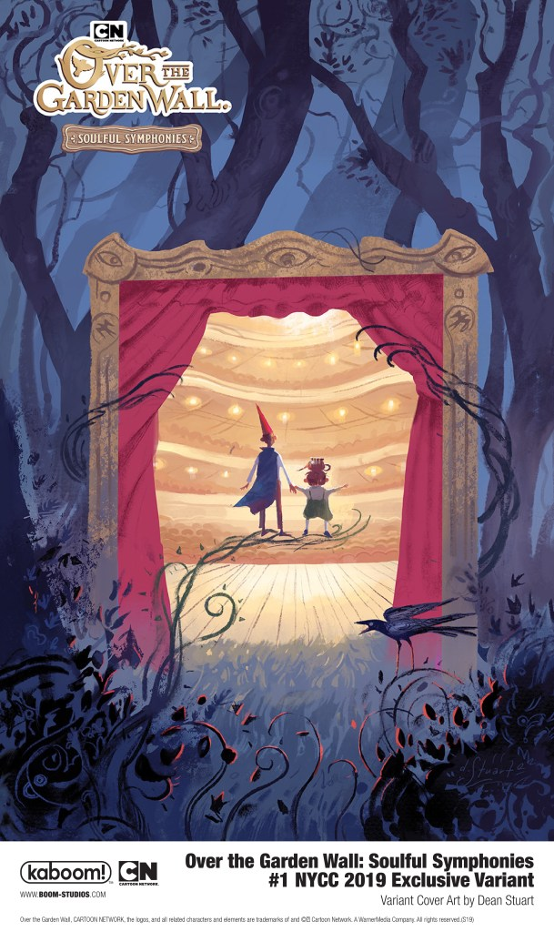Over the Garden Wall: Soulful Symphonies #1 NYCC Exclusive Variant