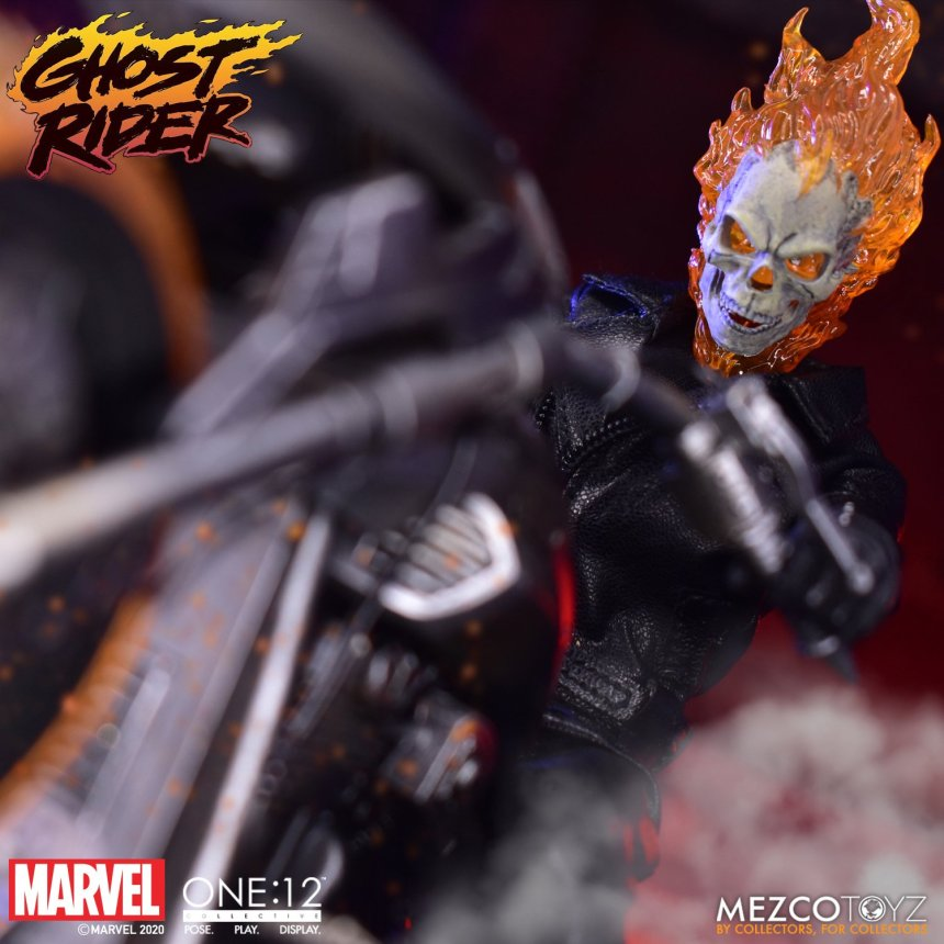 One:12 Collective Ghost Rider & Hell Cycle