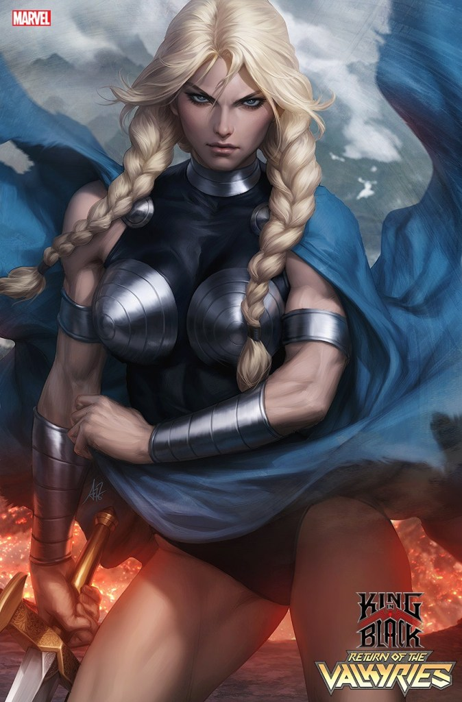KING IN BLACK: RETURN OF THE VALKYRIES #1 Artgerm cover