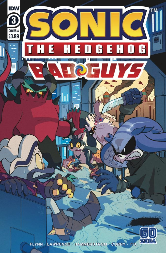 Sonic the Hedgehog: Bad Guys #3 (of 4)