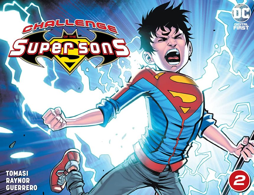 Challenge of the Super Sons (2020-) #2