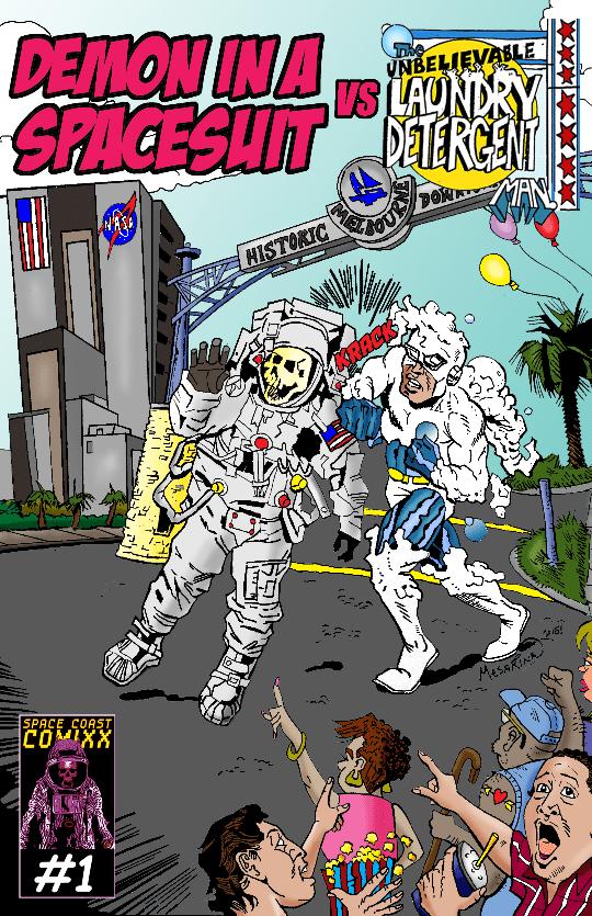 Demon in a Spacesuit VS The Unbelievable Laundry Detergent Man