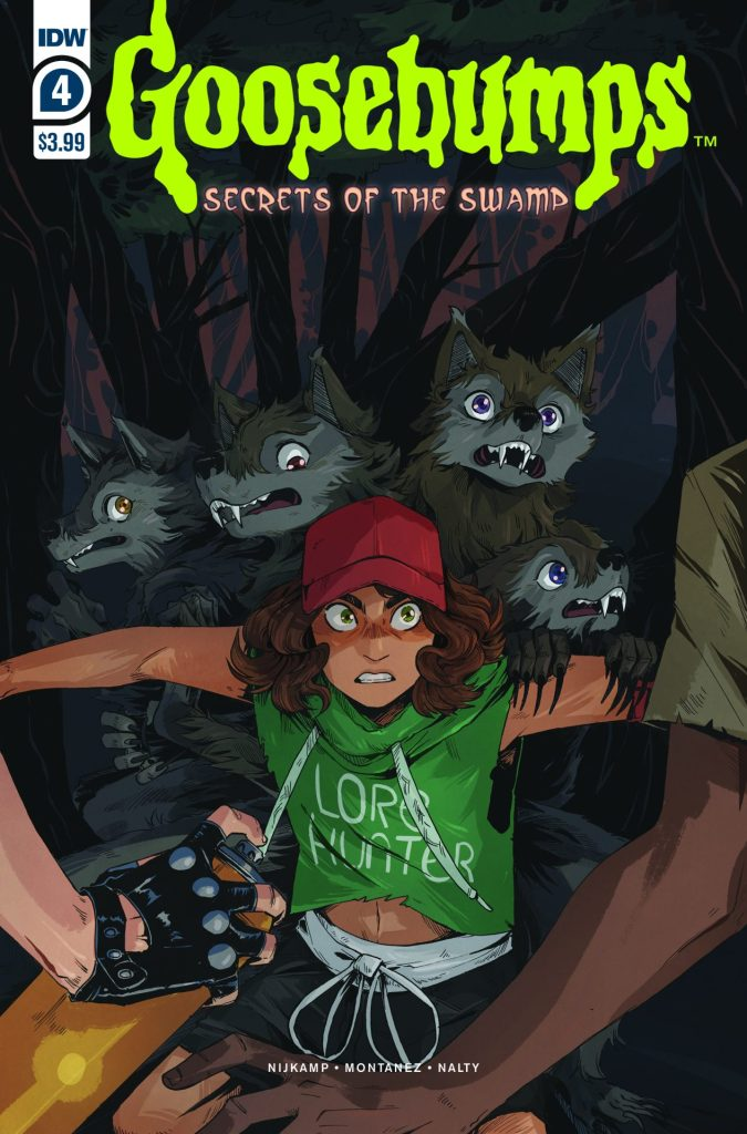 Goosebumps: Secrets of the Swamp #4 (of 5)