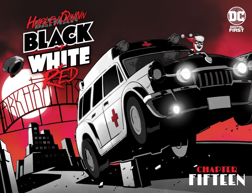 Harley Quinn: Black + White + Red (2020-) #15