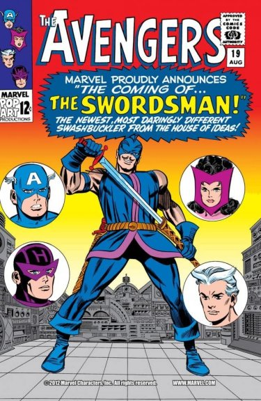 The Swordsman The Avengers #19